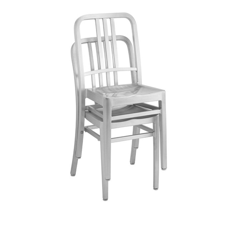 Aluminum Dining Stackable Chairs Restaurant Furniture