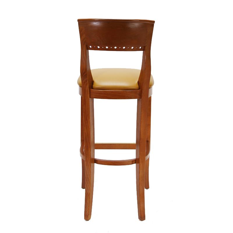 Biedermeier wood bar stool restaurant furniture warehouse
