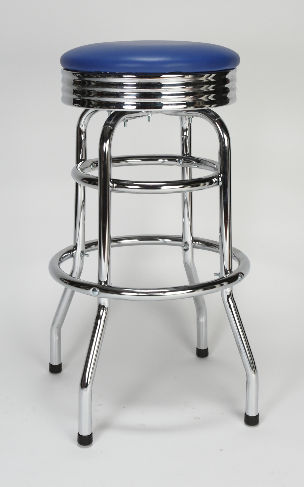 Chrome Circle Swivel Bar Stool Restaurant Furniture