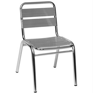 aluminum cafe chair