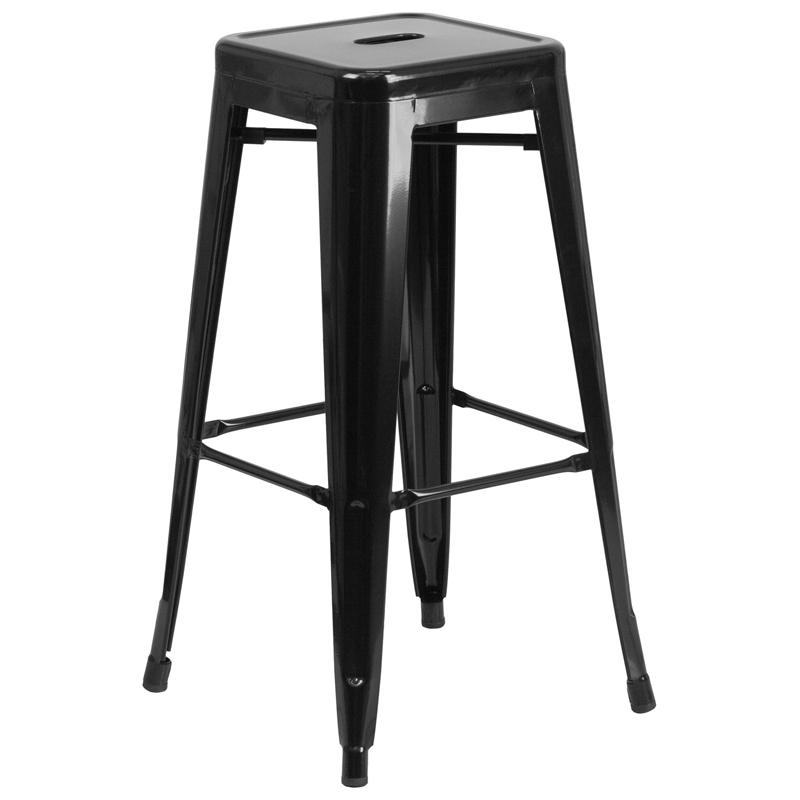 Callie backless metal bar stool restaurant furniture