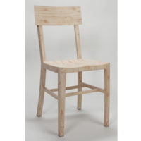Wood Look Aluminum Chair