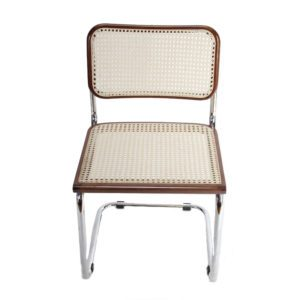 Breuer Metal Chair with Cane Seat & Back