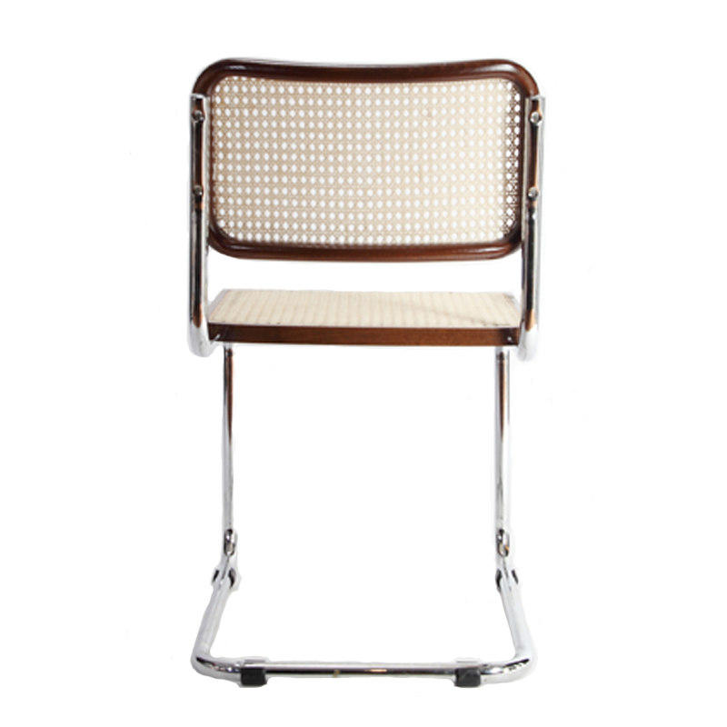 Breuer Metal Chair W Cane Seat Amp Back Restaurant