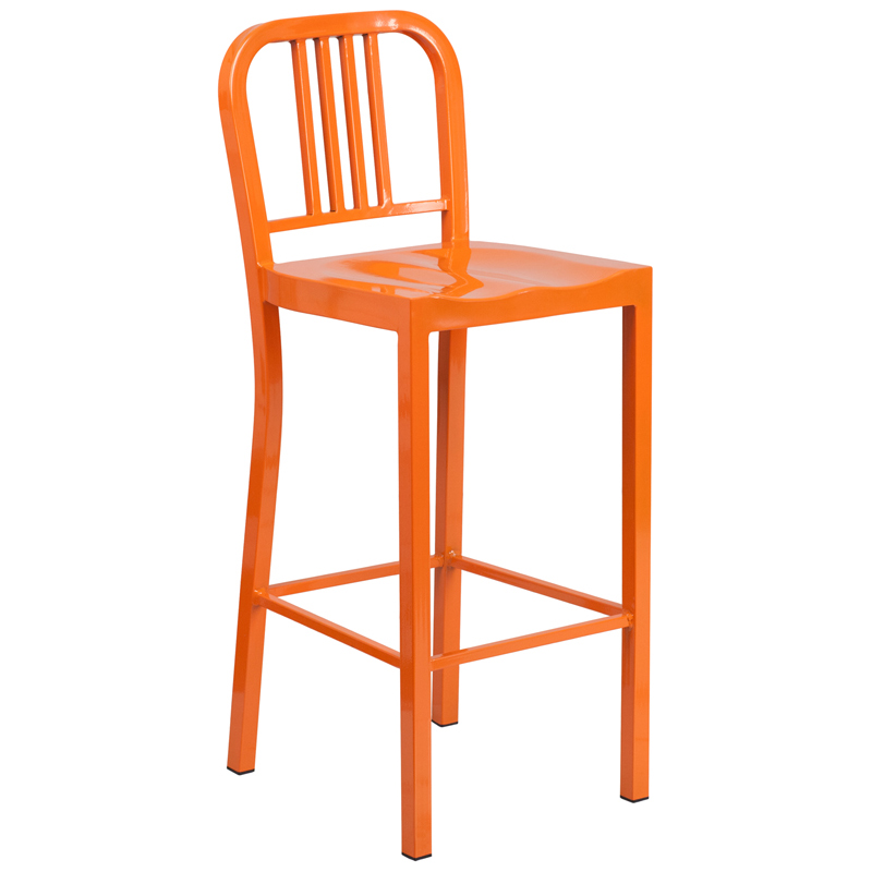 Metal Dining Bar Stool on Counter Height Bar Stool Chair