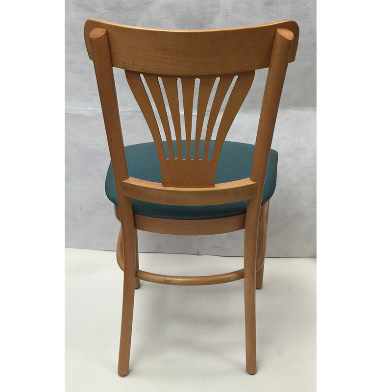 Fan Back Wood Chair Restaurant Furniture Warehouse