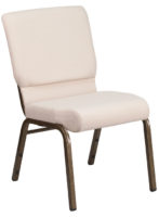 Beige Church Stacking Chair