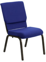 Navy Blue Church Stacking Chair