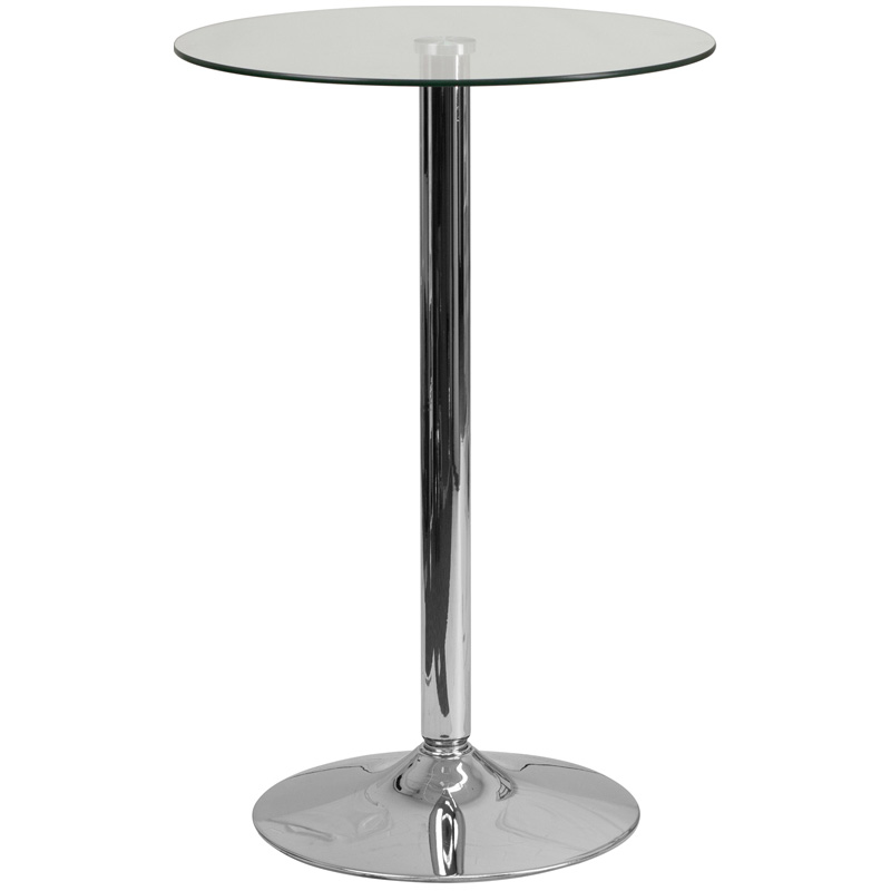 Wonderful Home / Shop / Tables Under $150.00 / Round Glass Cocktail Table In 23.75u2033