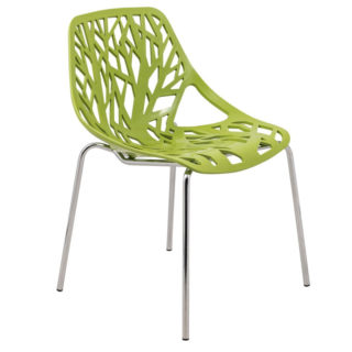forest-like modern metal chair